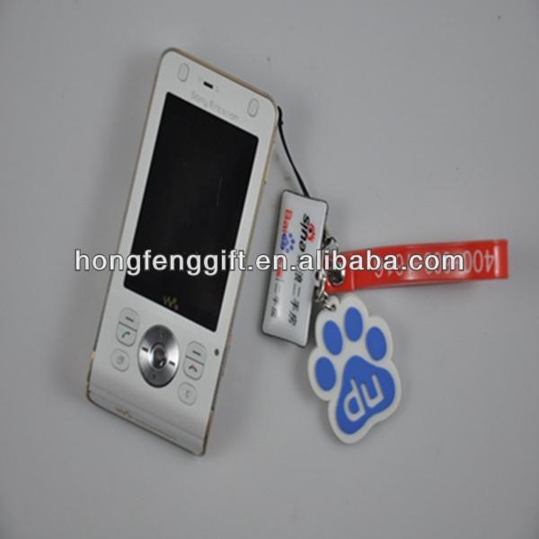 Promotion New lovely sock mobile phone holder lanyards