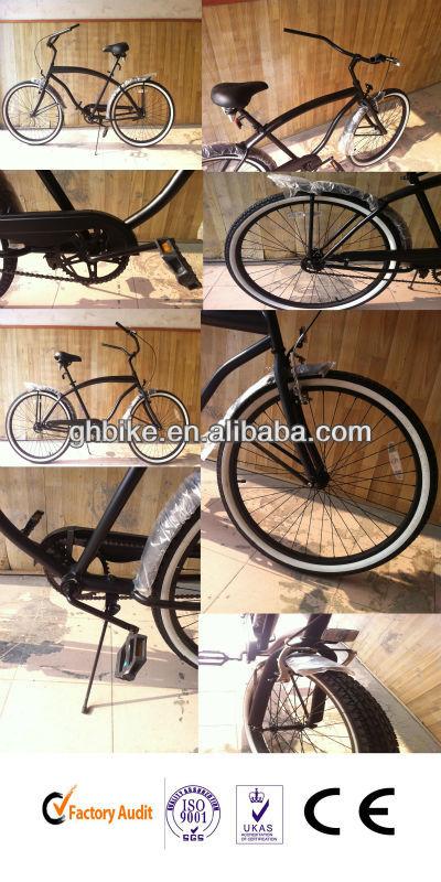black short fender men beach cruiser bike.jpg