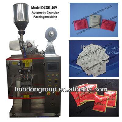 Granule automatique Machine d'emballage de sucre ensacheuse