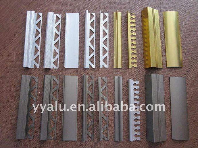 Aluminium Ceramic Tile Trim/