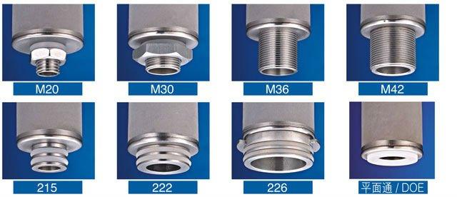 dia. 60mm Stainless steel Sintered Titanium powder filter
