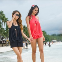 2010 New Style Sexy Chic Swimdress Swimsuit Pad 3 colors SC80