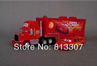 """Игрушечная техника и Автомобили 1set=2pcs pixar car alloy & plastic Mack + samll red car toy cars plastic """"Mack"""" truck toy car"""