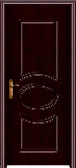 Cheap Single Door Design Interior Decoration Home