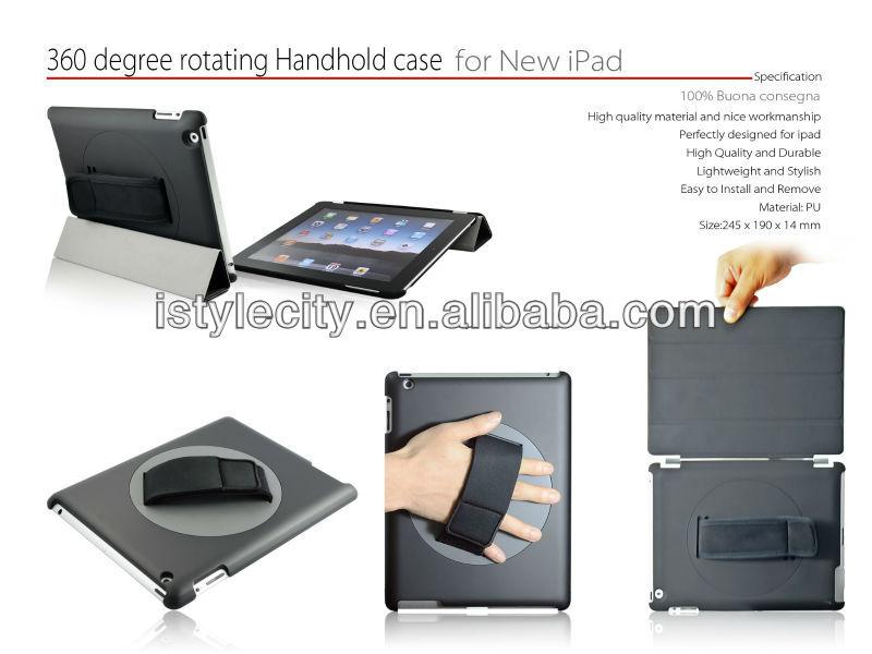 360 rotating leather case for ipad mini case