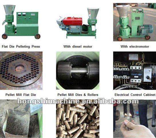 Ligne de Production de l'alimentation du bétail machine de granule
