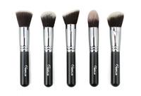 Кисти для макияжа New Professional SixPlus 5 Pcs Makeup Brush Set Face Powder Foundation Brushes Cosmetic Tool