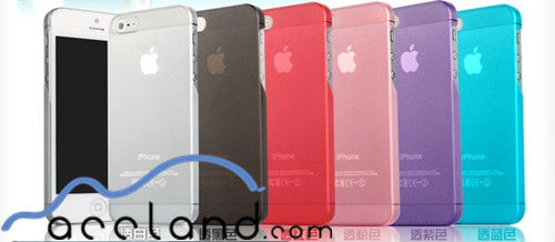 Ultra Thin Rubber Matte Hard Case Cover for iPhone 4g 4s 5G