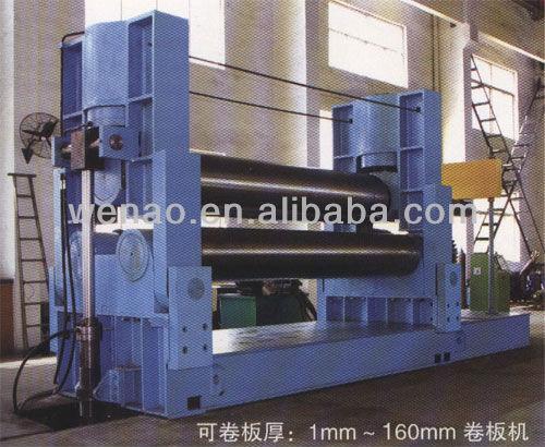 W11Y hydraulic plate rolling machine, conical rolling machine, hand-operated rolling machine