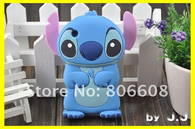 Stitch case for 3G/3GS  New arrival Fashion 3D stitch hard back case for iphone 3G 3GS stitch case Free shipping