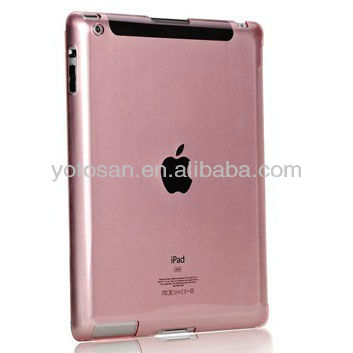 Hard Protective Back Cover for iPad Crystal Case