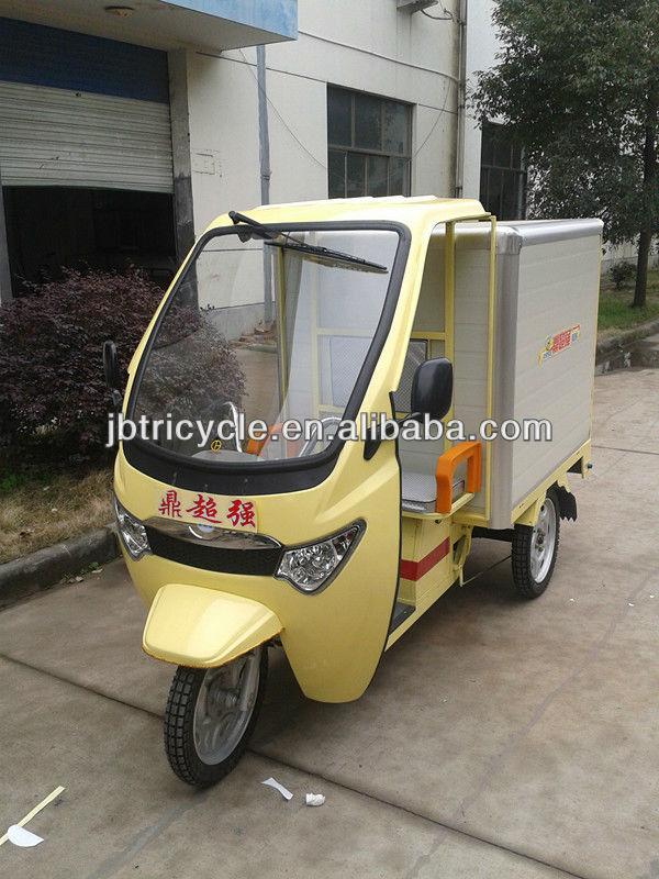 cargo van postal electric tricycle