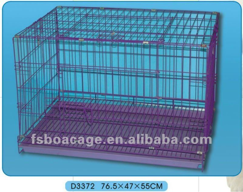 Wire Dog Cage 61X42X68cm