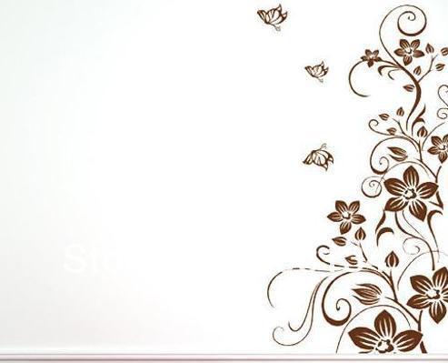 Dibujos de enredadera para pared imagui - Enredaderas de interior ...