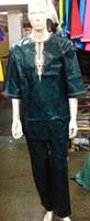 прямой производитель, африканские Жорж продовольственный, Восковая печать платье для человек-111