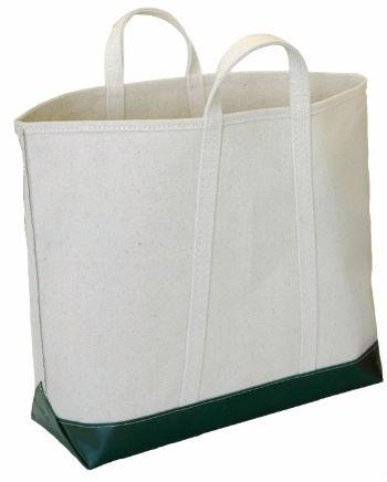 10oz Plain White Cotton Canvas Tote Bag