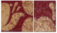 Red Charming Floral Vinyl Wallpaper for Commerce & Residence