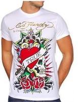 новые Эд Харди женщин футболки новый стиль 100% хлопок великолепные печати Эд тройники m l xl xxl