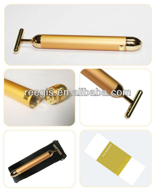 ビューティーバーfdaパルス24k黄金の美顔器仕入れ・メーカー・工場