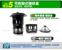 Комплексное минеральное удобрение Household Green Ying Lu mosquito lamps GM903 Electronic mosquito electric mosquito repellent light photocatalyst mosquito traps