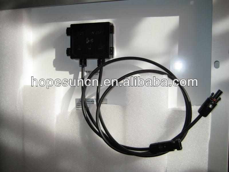 Polycrystalline silicon 100w 140w 150w pv solar panel