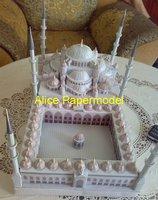 Алиса papermodel] длиной 40 см Турции Султан Ахмет camii замок здание сцены дом моделей