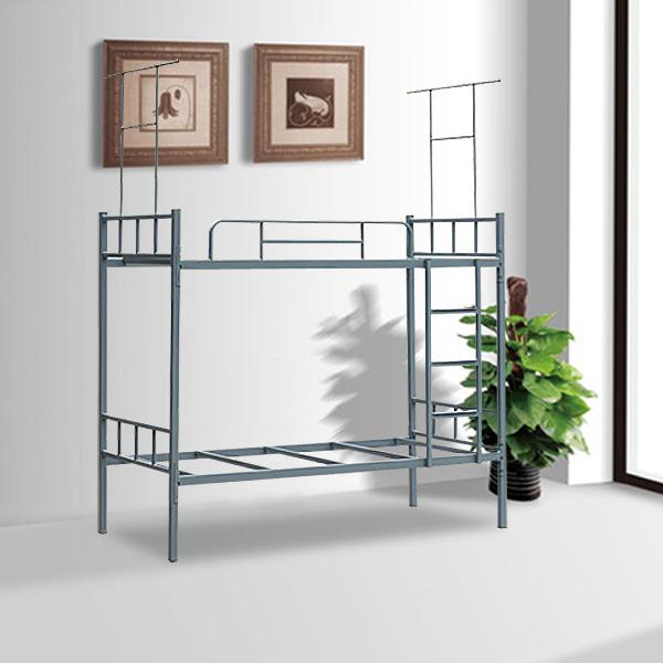 cama litera de metal cama alta con escritorio debajo de alta tecnologa