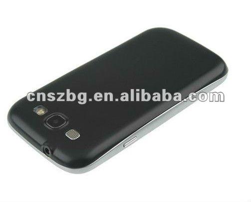 Newly S3 MTK6577 i9300 Phone 1.2GHz Cortex A9 Dual Core 3G GPS 4.7inch celular