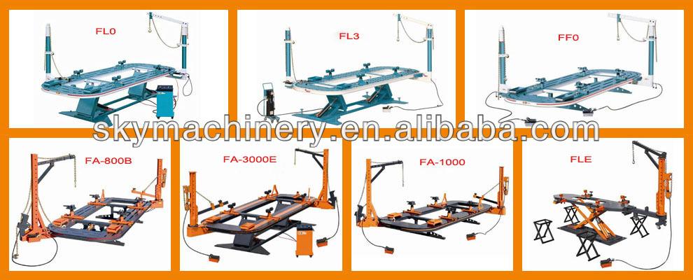 FS-2 Новых автомобилей кадр машина/выпрямления скамейке/столкновение ремонт системы