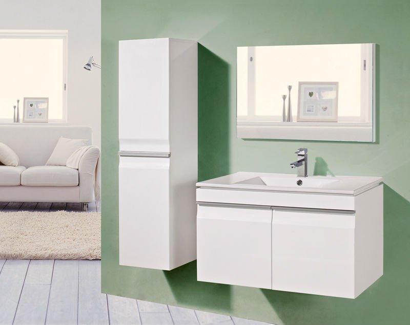 LBLF2042 Branco armário do banheiro à prova d águaPenteadeiras para ba -> Armario De Banheiro A Prova DAgua
