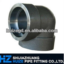 ANSI B16.11 ASTM A105 3000lb stainless socket weld fittings dimensions