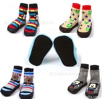 Babys хлопок полу носки подходят 1-3 лет dearskin стекаются нижней прямой Дизайн животных 10pair/лот