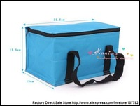 Сумка-холодильник 160 pcs/lot Foldable Cooler Bags For Food / Lunch Portable Picnic Bag Big Capacity Warm & Cool Insulation Box Best Selling N276