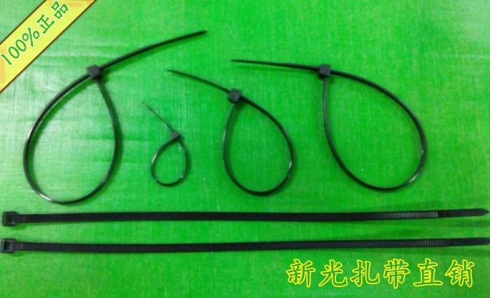 Нейлон Кабель галстук 6 дюймов 3 * 150 мм пластиковый кабель ticable галстук самоблокирующихся типа черные нейлоновые кабельные стяжки