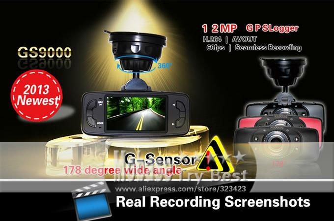 GS9000 car dvr gps 160049 10
