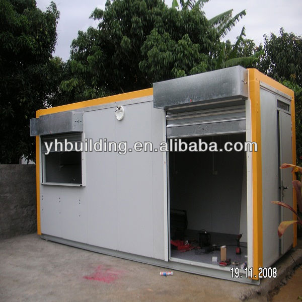 YH modular 20ft container mobile store design