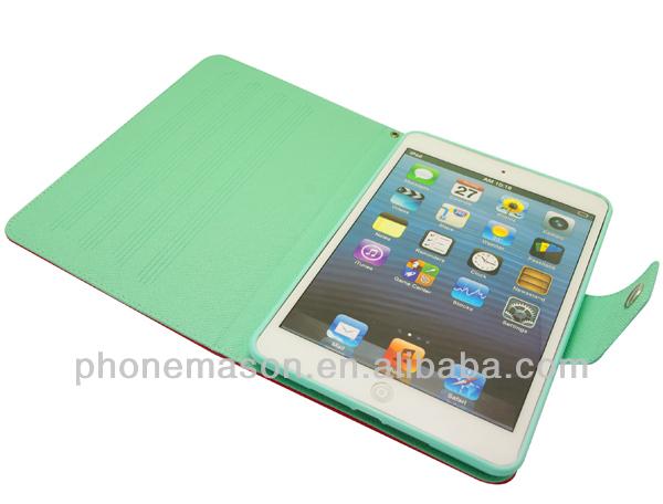 2014 Popular Design For Ipad Mini PU Case