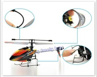 Free shipping 4CH 2.4GHz Mini Radio Single Propeller RC Helicopter Gyro WL V911 Toys Games Solo