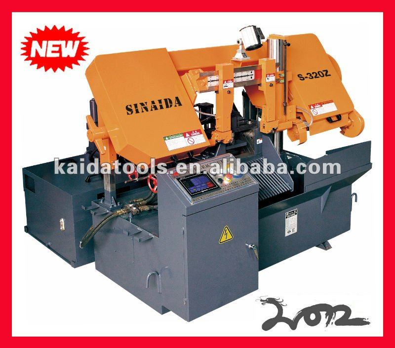 CNC Metal Angle cut 45 degree band saw machine GZX4250-X