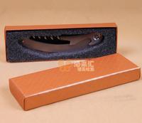 Винный набор с box оранжевый цвет бумаги подарки штопор