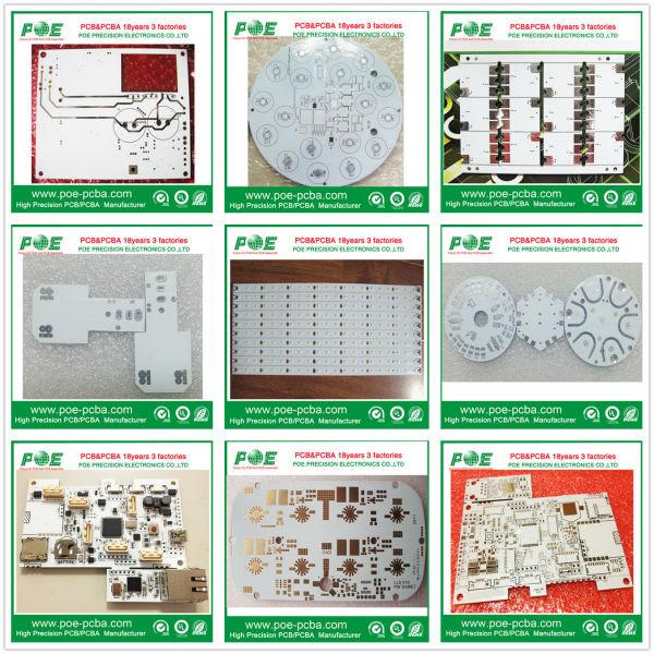 2 camada sensor eletrônico pcb circuito montagem