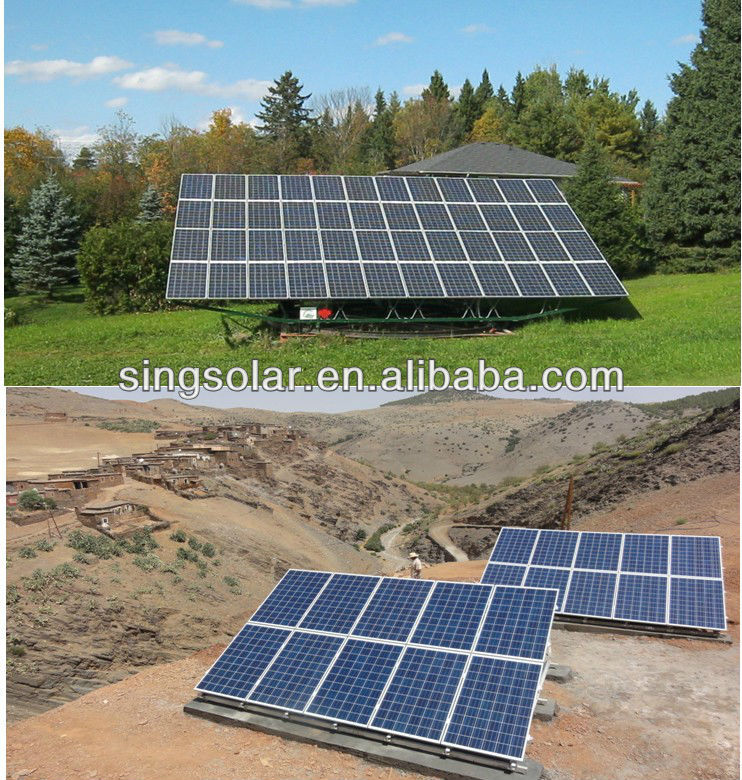 100Watts18v Supply Solar Panels kit for Pakistan