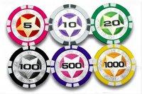 Фишки для покера Casino 11,5 ABS Chips\ + +