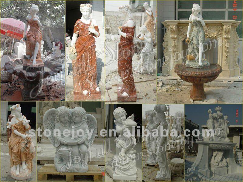 Escultura de m rmol jard n estatua estatua de m rmol - Estatuas de jardin ...