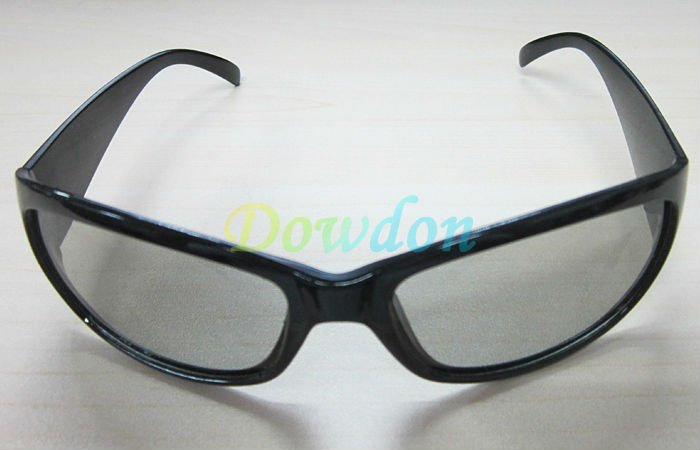Light Frame 3D Glasses Circular Polarized
