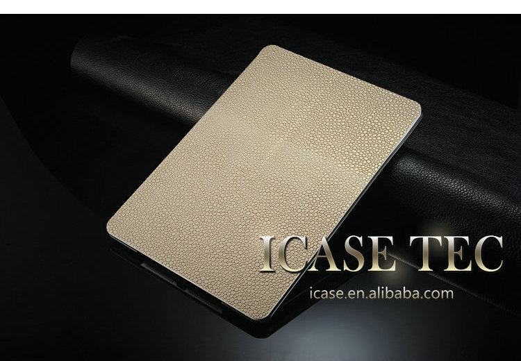 high quality leather case for ipad air,rotate stand case for ipad air