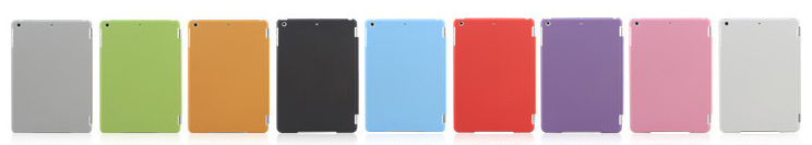 Smart Cover with Back Case for Ipad air,For iPad Air Smart Cover Slim Magnetic Folding Cover