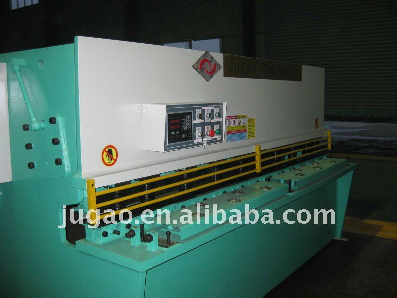 Metal sheet QC12Y-60X8000 hydraulic shearing guillotine shear