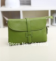 Маленькая сумочка 2013 candy color genuine leather vintage small cross-body bag fashion women's handbag messenger bag