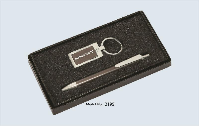 Presentes do negócio de Chaveiro e Caneta (Logotipo Gravado)